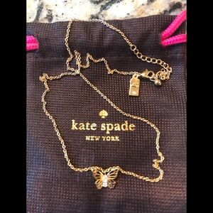 ♠️🦋Kate Spade Social Butterfly Necklace NWOT!!